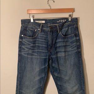 Gap bootcut men's jeans